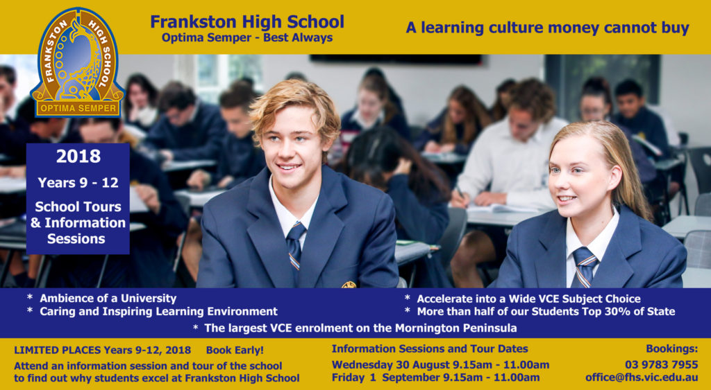 Click the image to email office@fhs.vic.edu.au